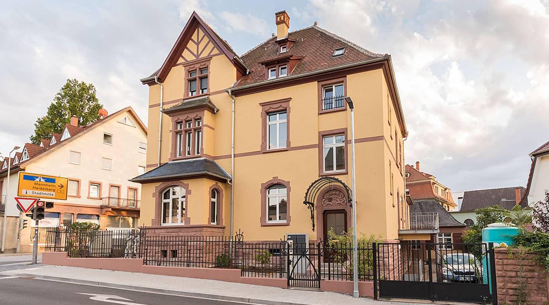 Volksbank Weinheim Finanzierung Atalanta: Villa Ludwig