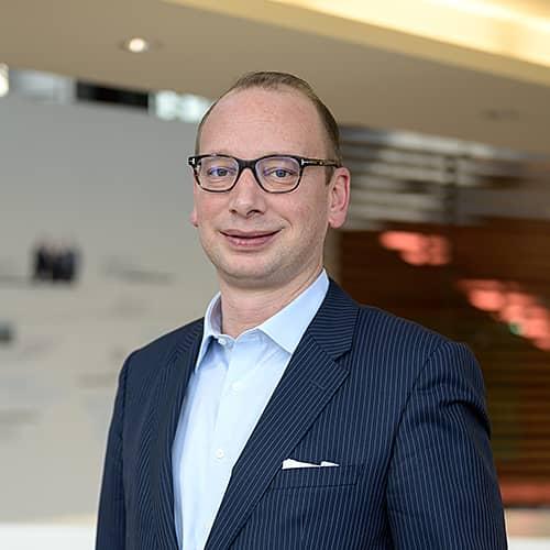 Volksbank Weinheim Bereichsleiter Firmenkunden Martin Stoll