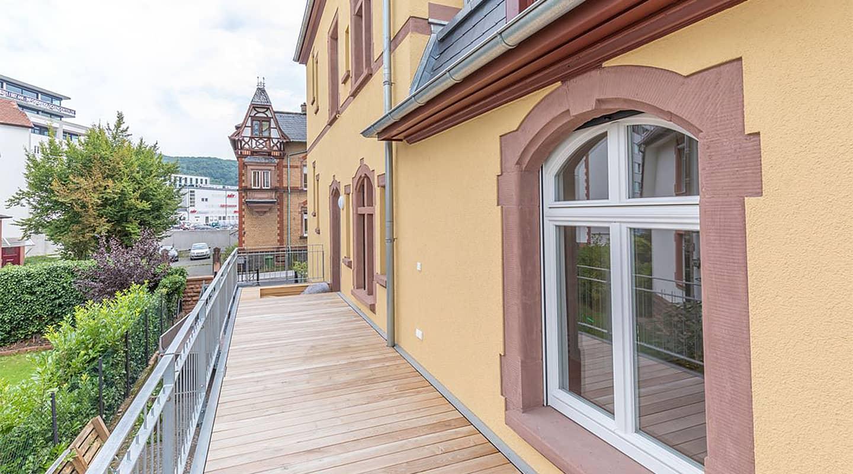 Volksbank Weinheim Finanzierung Atalanta: Projekt Villa Ludwig