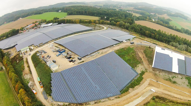 Volksbank Weinheim Mittelstand Partner: Goldbeck Solar GmbH, Sonnenkraftwerk Detmold