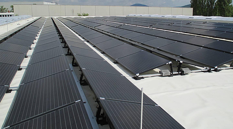 Volksbank Weinheim Mittelstand Partner: Goldbeck Solar GmbH, Solaranlage
