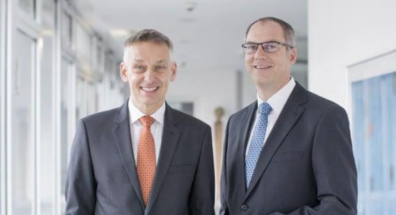 Geschäftsbericht Volksbank Weinheim: Carsten Müller, Klaus Steckmann