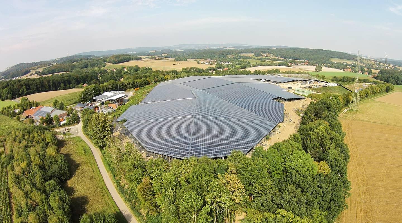 Volksbank Weinheim Mittelstand Partner: Goldbeck Solar GmbH, Sonnenkraftwerk