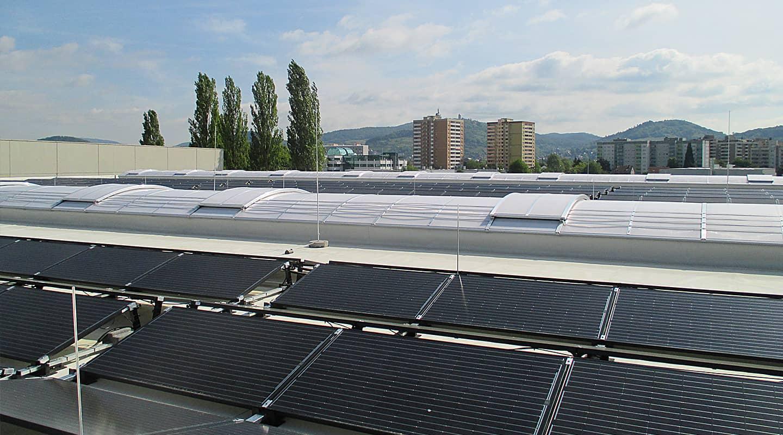 Volksbank Weinheim Mittelstand Partner: Goldbeck Solar GmbH, Solaranlage Heppenheim